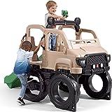 Step2 Safari Truck Climber   Large Outdoor Kids Climber Playset, Brown