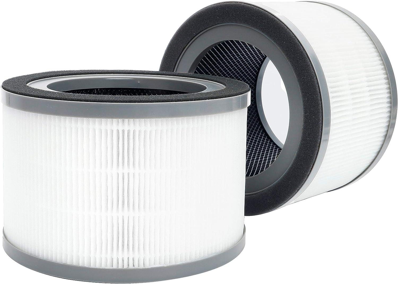 Flintar 2 Packs of Vista 200 Medical Grade H13 True HEPA Replacement Filters, Compatible with LEVOIT Vista 200 Air Purifier, Vista 200-RF