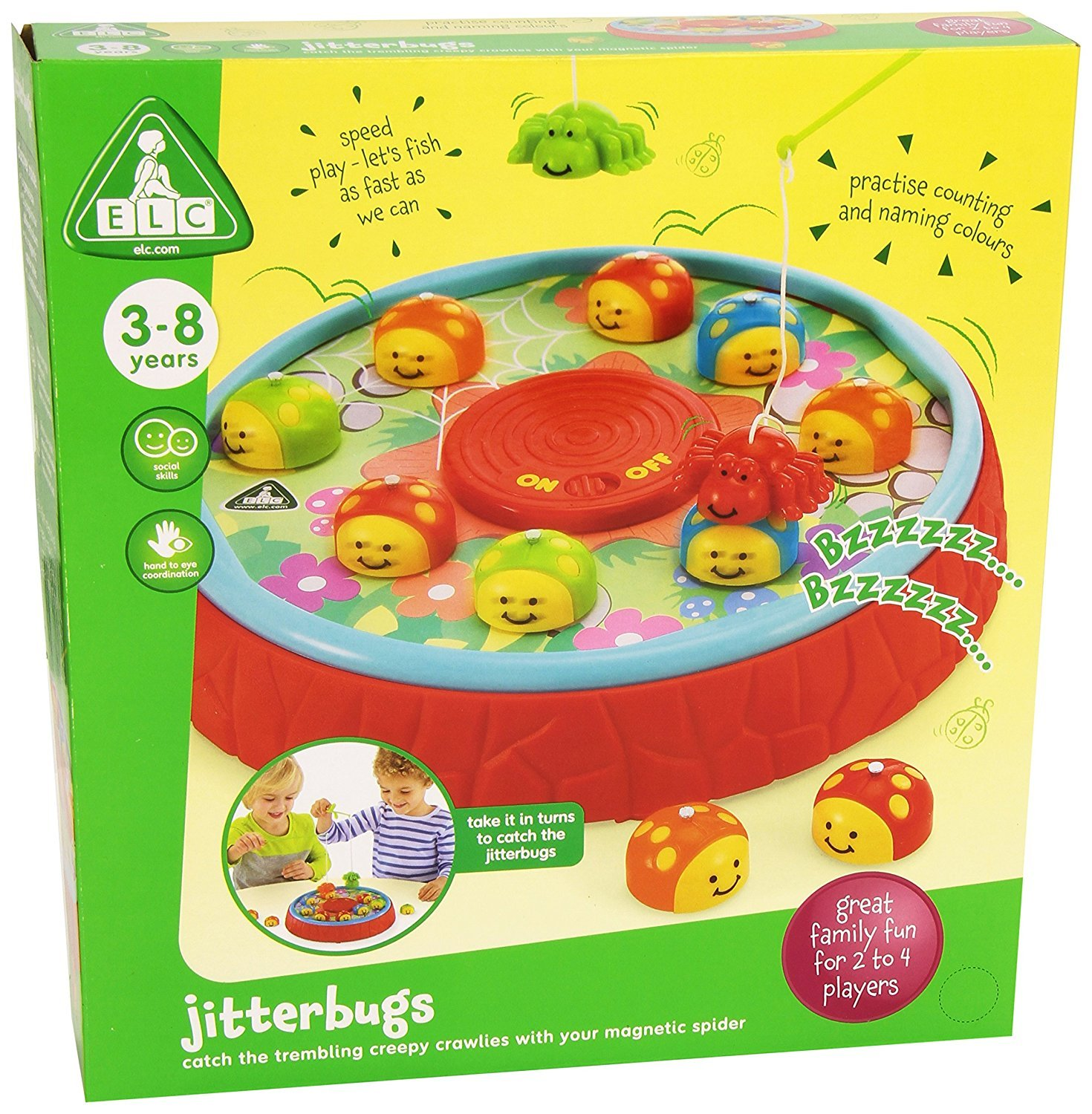 ELC Jitterbugs Game Early Learning Centre 120609