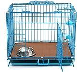Folding Metal Dog Crate 24u0027u0027 Double-Doors Pet Cage Set with Removable  sc 1 st  Amazon.com & Amazon.com: LitterMaid Universal Cat Privacy Tent (LMT100): Pet ...