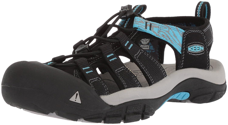KEEN Women's Newport Hydro-W Sandal B071Y443WZ 11 B(M) US|Black/Norse Blue