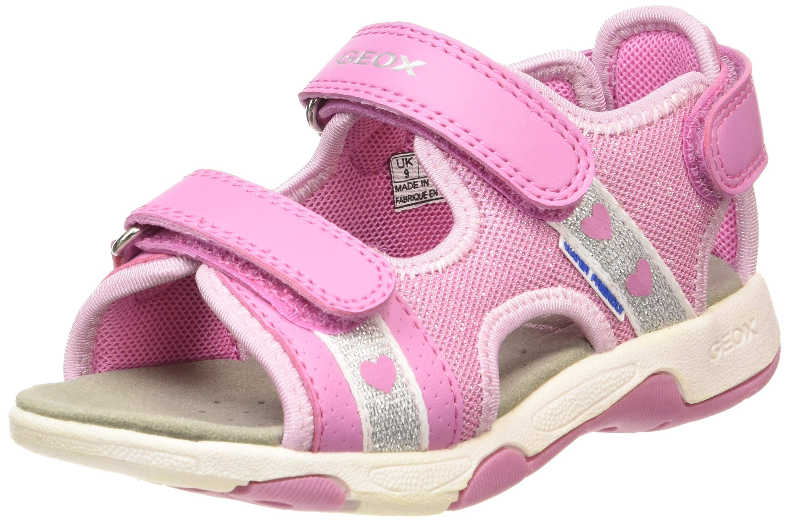Geox - Baby Sand Multy - B920DB01454C8006 - Color: Pink - Size: 9.0
