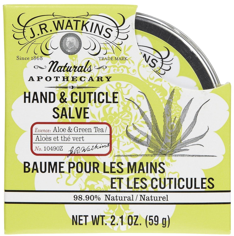 J. R. Watkins Hand and Cuticle Salve Aloe and Green Tea - 2.1 oz J R Watkins 10490