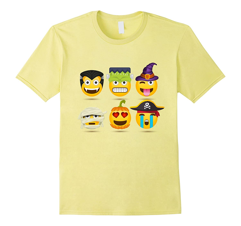 00adb88cf Halloween Emoji Tshirt Design-ANZ - Anztshirt