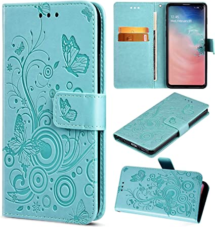 Portafoglio Custodia Morbido,argento//glitter Saceebe Compatibile con Huawei P30 lite Custodia pelle Cover a libro PU Flip Case Pelle Cover Custodia in pelle glitterata con cordino