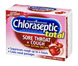 Chloraseptic Total Sore Throat + Cough Lozenges