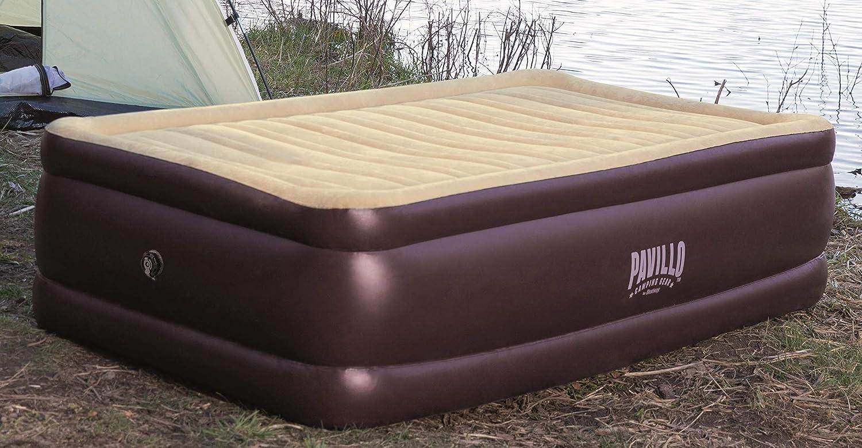 191X97X43 Air Bed Twin Size 191X97X43/cm brown//beige Bestway Pavillo Corn Trims