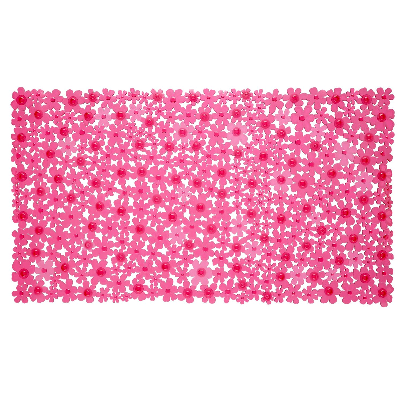 Field of Flowers Bath Mat - Pink Venturi 06753-1
