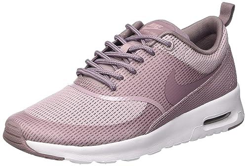 release date: 347e9 ca5e4 Nike Women s Air Max Thea TxT Plum Fog Purple Smoke White Running Shoe 6