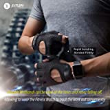 SIMARI Workout Gloves for Women Men,Training Gloves for Fitness Exercise Weight Lifting Gym Crossfit,Made of Microfiber SG-907 Black