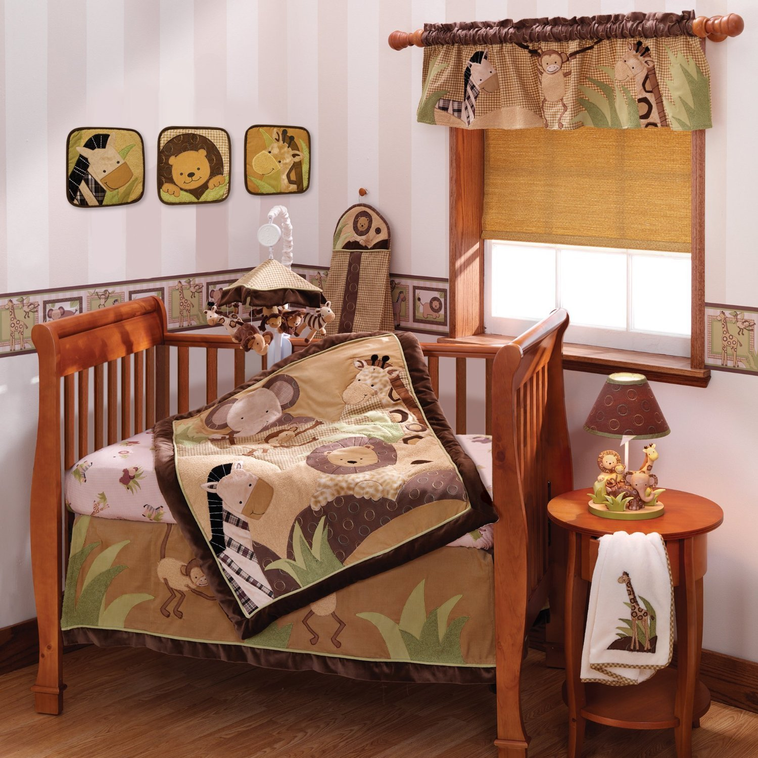 piece arrivals bedding cribs product beige picket set crib fence new