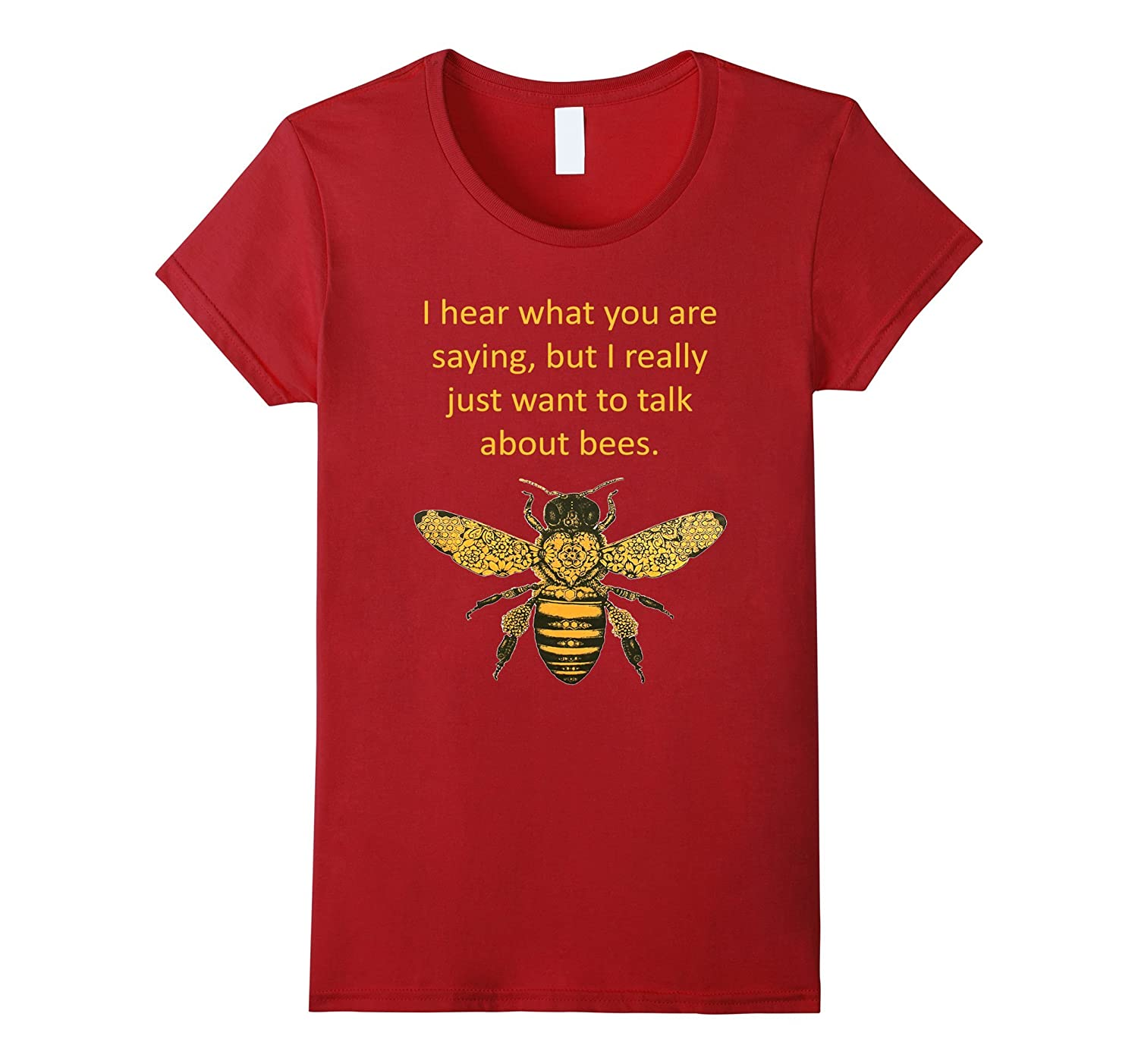 I really just want to talk about BEES Beekeeper T-shirt Tee