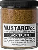 Mustard and Co. - Black Truffle - 7oz Jar