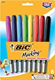 BIC Marking Permanent Marker Fashion Colors, Fine Point, Assorted Colors, 8-Count (Pack of 6)