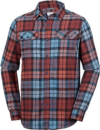Columbia - Camisa de Franela y Manga Larga para Hombre: Amazon.es: Ropa y accesorios