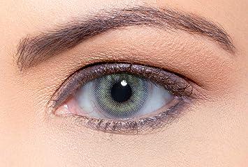 Solotica Hidrocor Quartzo - lentillas de colores mensuales sin doprtías - 1 par (2 undidades): Amazon.es: Salud y cuidado personal