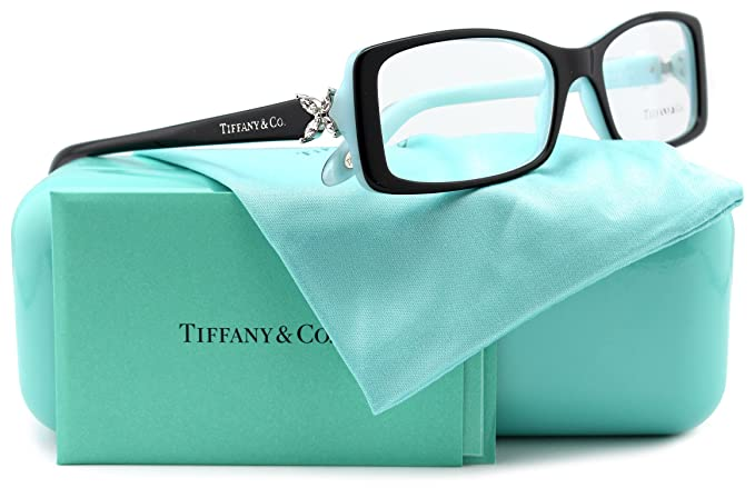 dcc38b92348 Image Unavailable. Image not available for. Colour  Tiffany   Co. TF2043B  Eyeglasses Top Black Blue (8055) TF 2043B 8055
