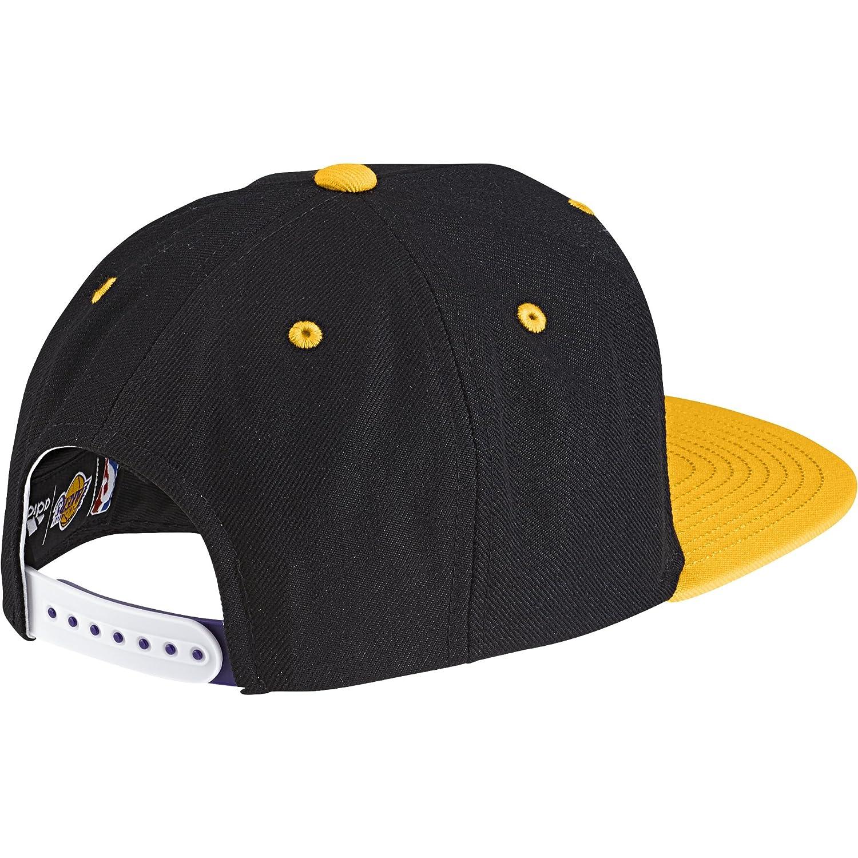 adidas Cap Los Angeles Lakers Flat-Brim - Gorra para Hombre aba3180718a