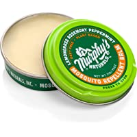 Murphy's Naturals Mosquito Repellent Balm | Plant Based, All Natural Ingredients | DEET Free | Travel/Pocket Size | 0.75…
