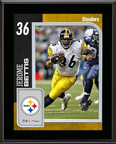 f287998a8 Amazon.com: Jerome Bettis Pittsburgh Steelers 10.5'' x 13'' Sublimated  Player Plaque - NFL Player Plaques and Collages: Sports Collectibles