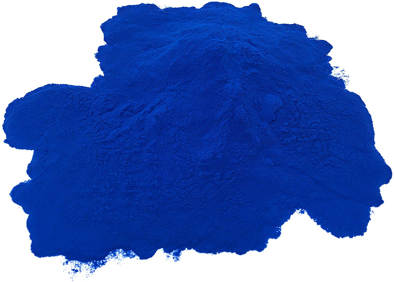 Polvo De Espirulina Azul 100% Puro - Ficocianina - Colorante Alimentario Azul Profundo - Arthrospira Platensis