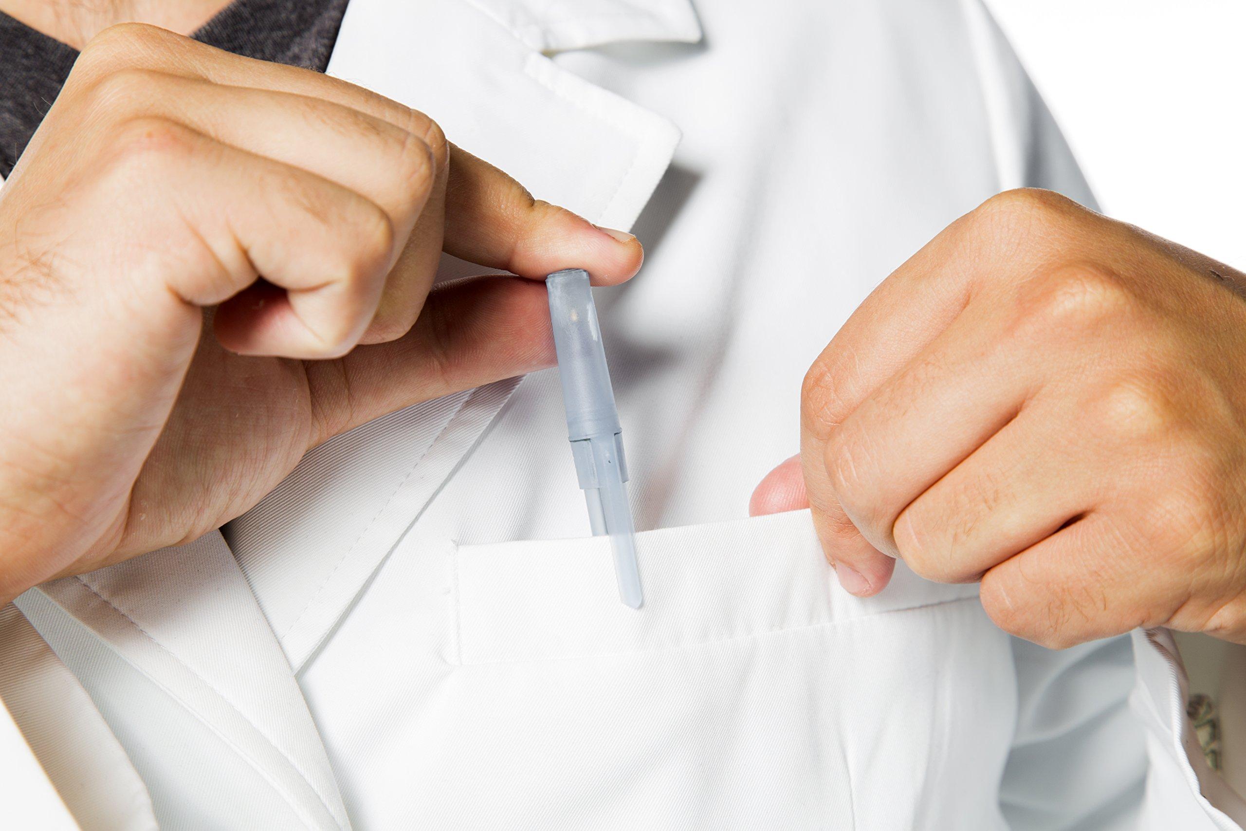 SCOTTeVEST Men's Lab Coat - 16 Pockets - Medical Uniform, Pickpocket Proof XL by SCOTTeVEST (Image #5)