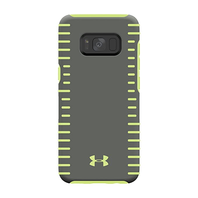 huge discount a5036 018f6 Under Armour UA Protect Grip Case for Samsung Galaxy S8 - Graphite/Quirky  Lime
