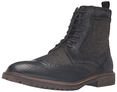 Steve Madden Men's Siftt Boot, Black/Multi, ...