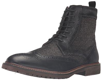 6656d53d93d Steve Madden Men's Siftt Boot, Black/Multi, 8 M US: Buy Online at ...