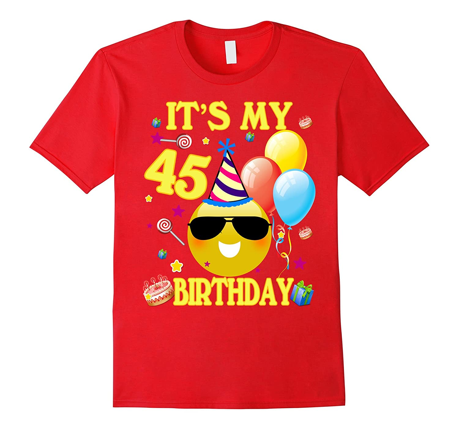 Its My 45th Birthday Shirt 45 Years Old Gift ANZ Anztshirt