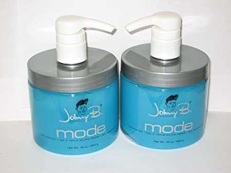 Johnny B Mode Styling Gel 16 Oz Buy ONE GET ONE Free With Pump Pack of 2