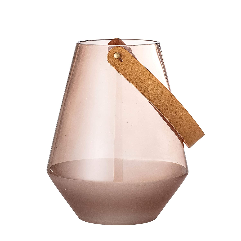 Bloomingville AH0516 Glass Vase Medium Brown