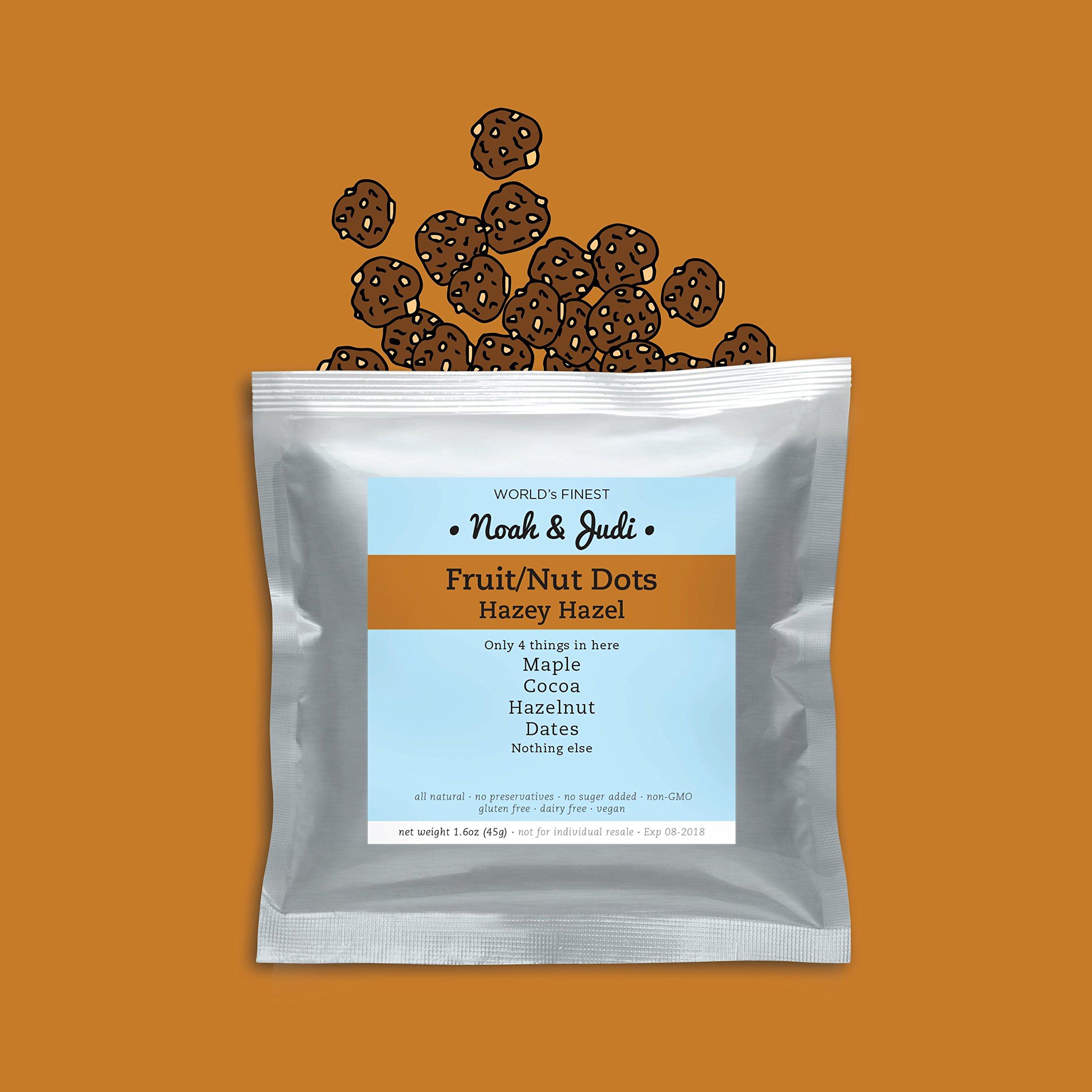 Noah & Judi Artisanal Handmade Natural Fruit/Nut Bite-Size ''Dots'' [Hazey Hazel] by Noah & Judi (Image #5)