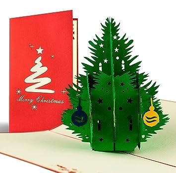 Weihnachtsgrüße Klassisch.Weihnachtskarte Mit Umschlag Weihnachtsbaum Gutschein Klappkarte Edel Klassisch Besonders Christlich Hochwertig Adventskarte Geschenkidee
