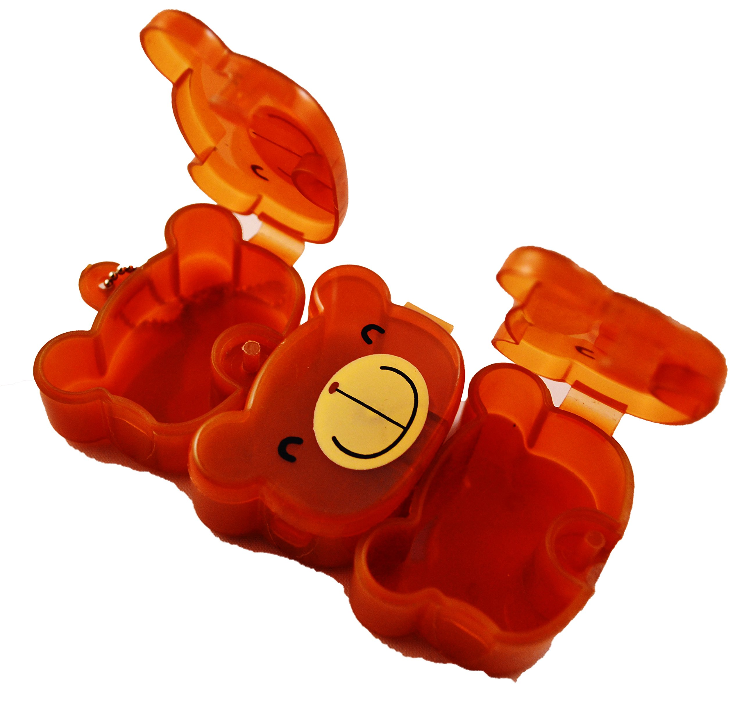 Choco Teddy Small Nutrition Pill Box by Benection