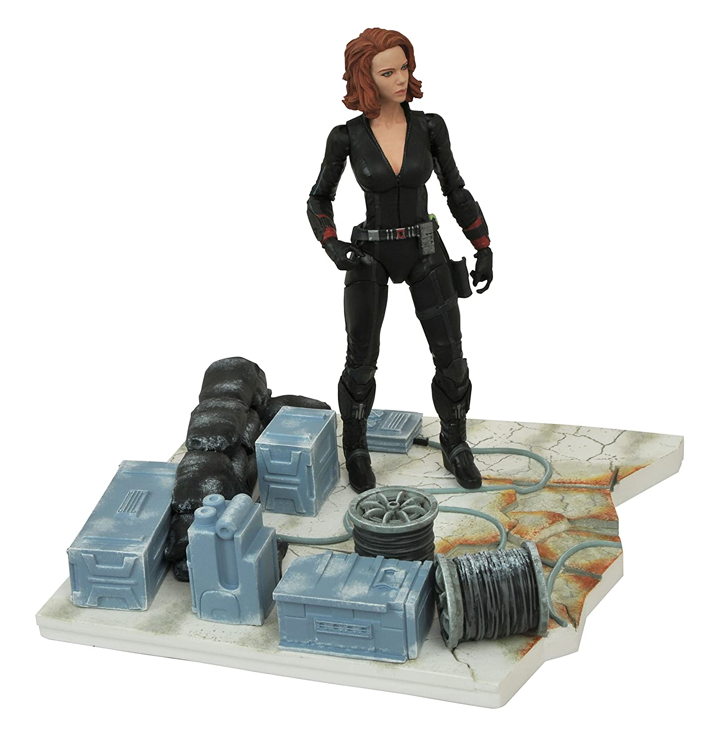 Diamond Select Toys Marvel Select Avengers Age of Ultron Black Widow Action Figure