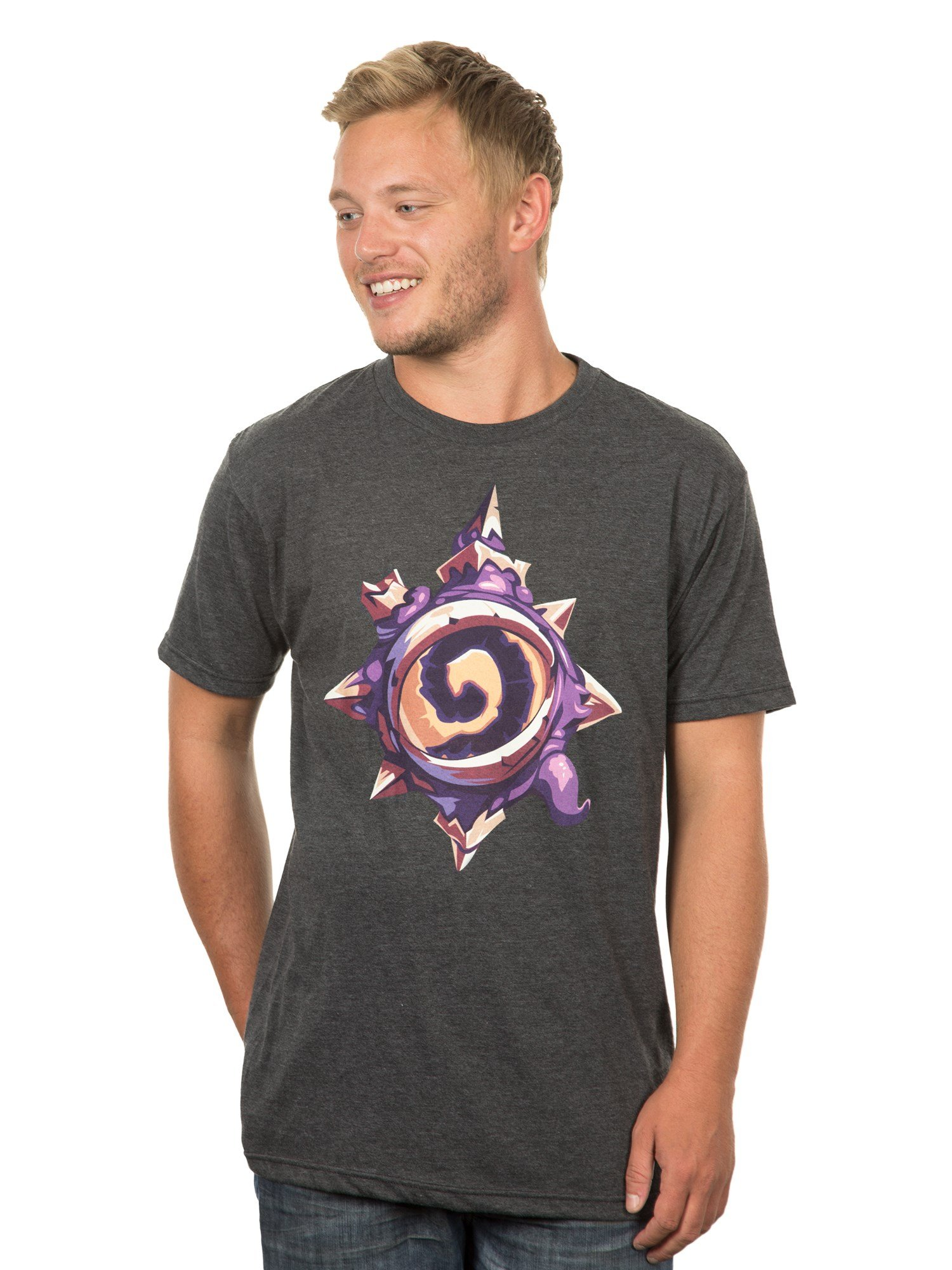 JINX Hearthstone Eye of The Old Gods Men's Gamer Graphic T-Shirt