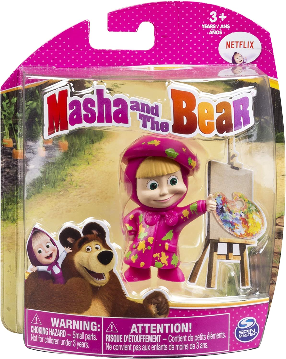 Masha and The Bear Painter Masha Spin Master 20083022