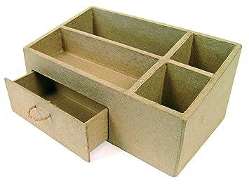 Schreibtischplatte holz  Schreibtisch-Utensilienbox, MDF-Holz: Amazon.de: Spielzeug