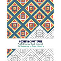 Geometric Patterns - Adult Coloring Book Volume 2