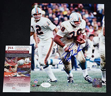 60ab8dc86fe Image Unavailable. Image not available for. Color  Larry Csonka Signed  Photo - 1972 8x10 ...