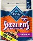 Blue Buffalo Sizzlers Natural Bacon-Style Soft-Moist Dog Treats