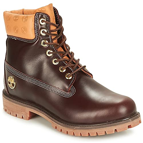 TIMBERLAND 7 in Premium Boot Botines/Low Boots Hombres Brown Botas de caña Baja: Amazon.es: Zapatos y complementos