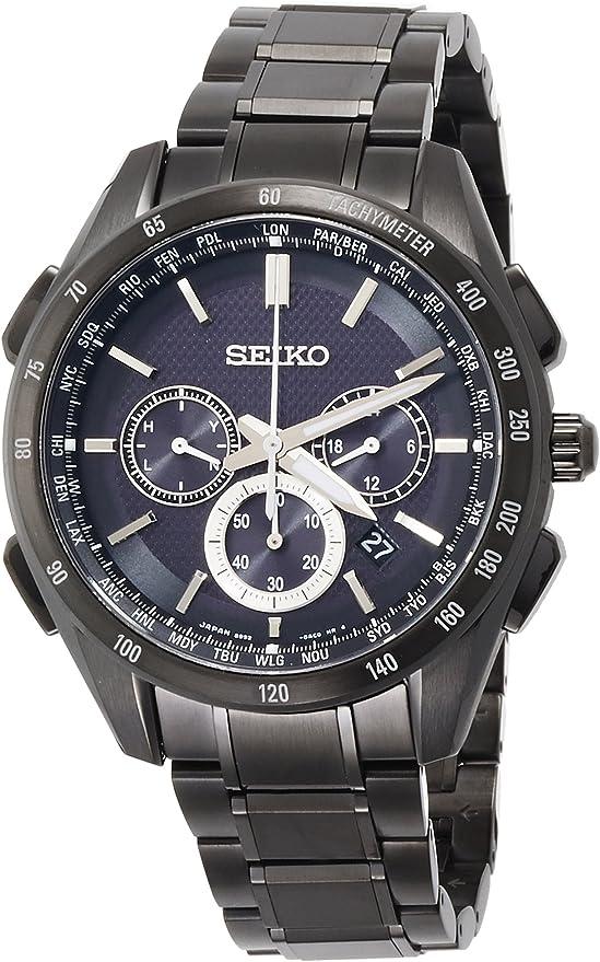 [セイコーウォッチ] 腕時計 ブライツ ソーラー電波修正 サファイアガラス SAGA195