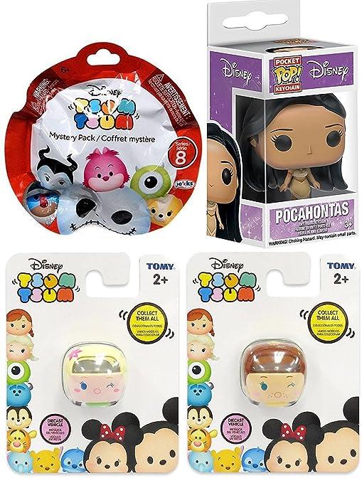 Amazon.com: Anna & Elsa Frozen Tsum Stackable Collection ...