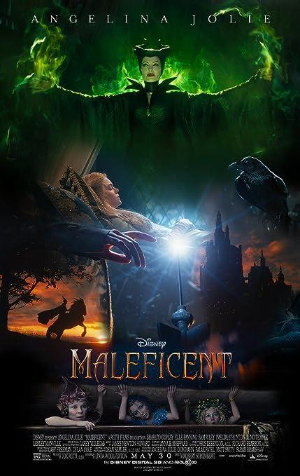 Amazon Com Maleficent 2014 Movie Poster Family Silk Wall