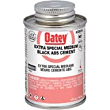 Oatey 30916 ABS Extra Special Cement, Black, 4-Ounce