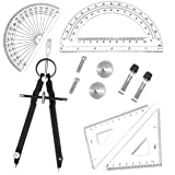 5 Piece Geometry School Set,with Quality