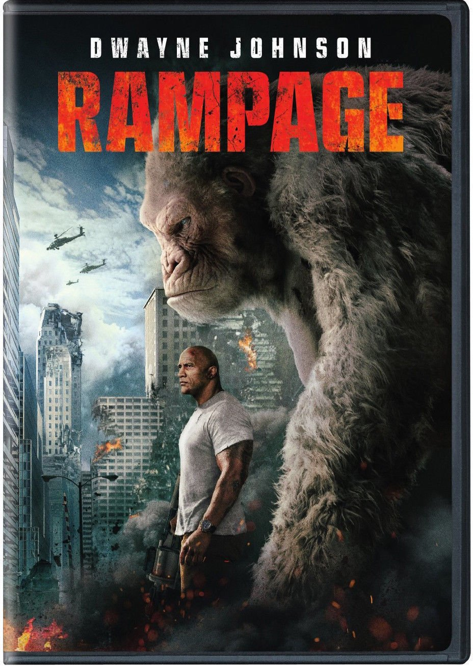Rampage (DVD,2018) NEW, Action, Adventure