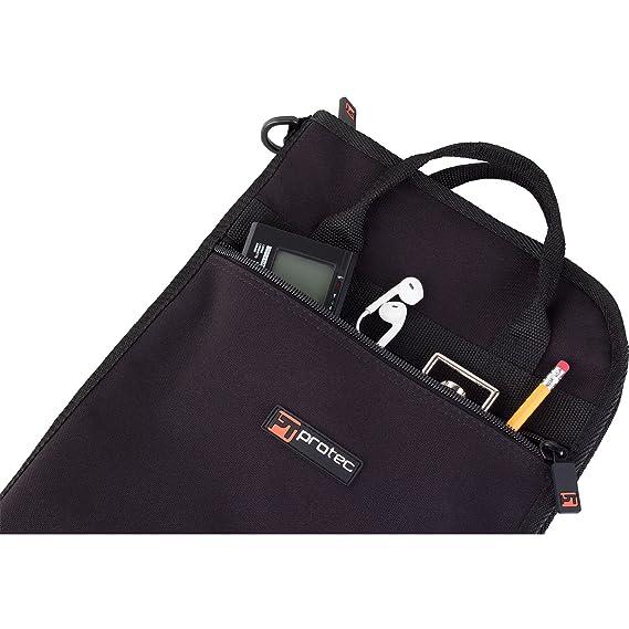 Amazon.com: Protec Deluxe – Bolsa para baquetas Instrumento ...